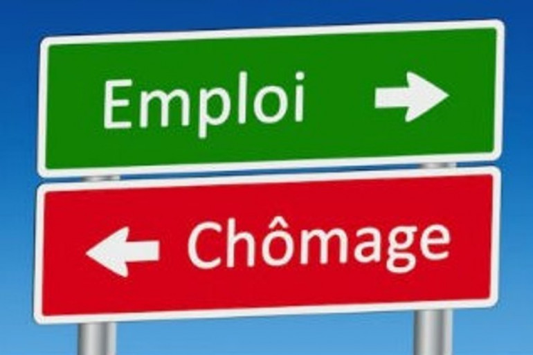 chômage panneau