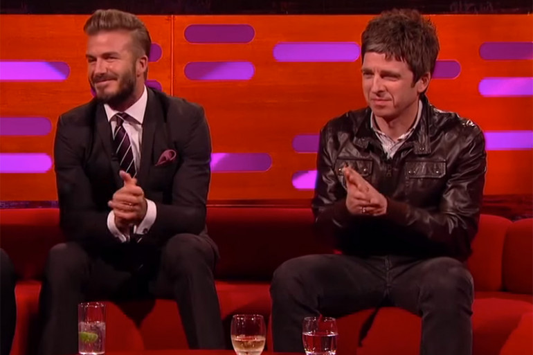 David Beckham & Noel Gallagher