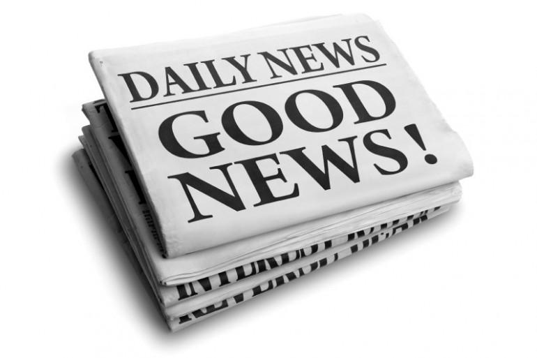 Tomber sur des bonnes nouvelles dès le matin