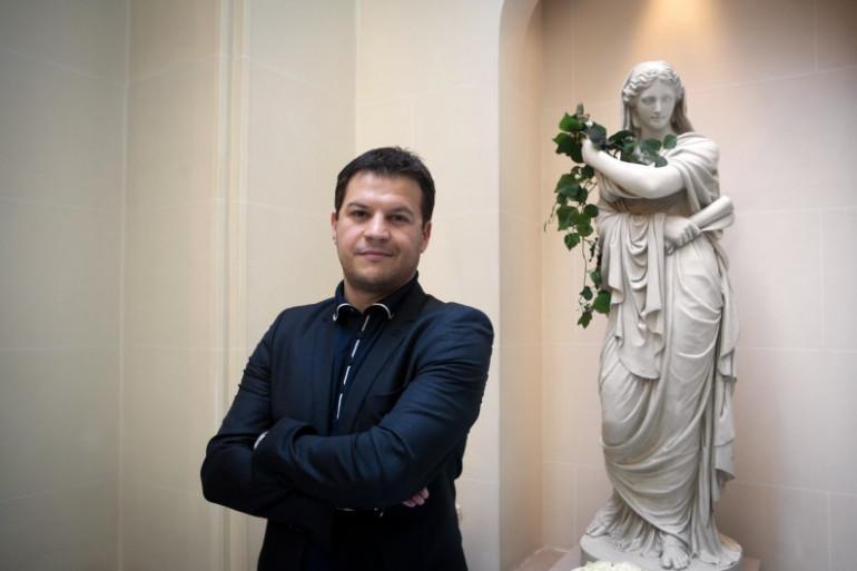 L'écrivain Guillaume Musso
