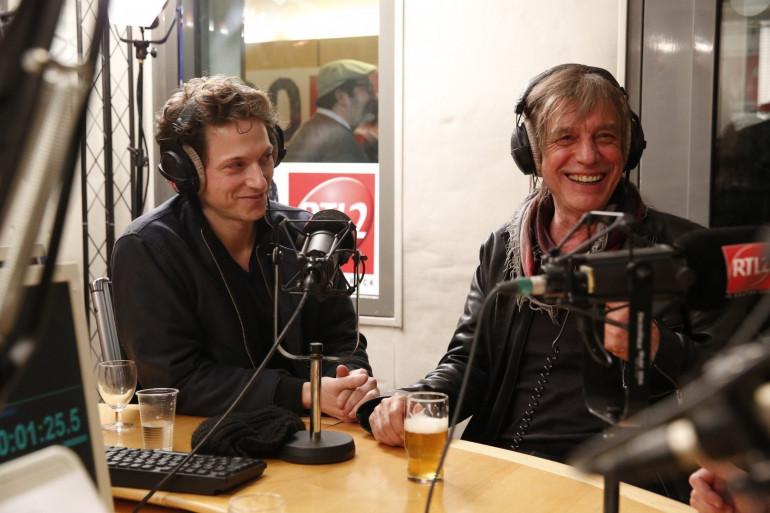 Rahael et Jean-Louis Aubert lors de leur passage aux 20 ans de RTL2