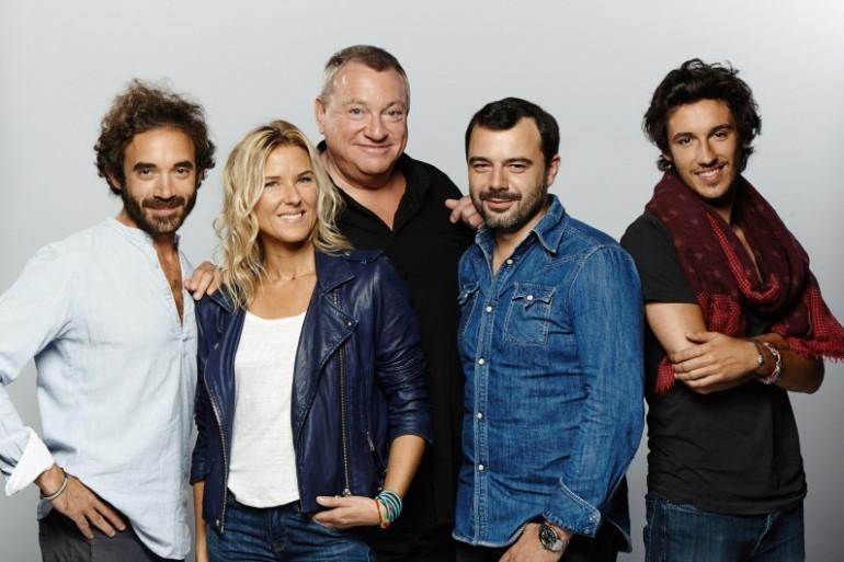 L'équipe du Grand Morning sur RTL2