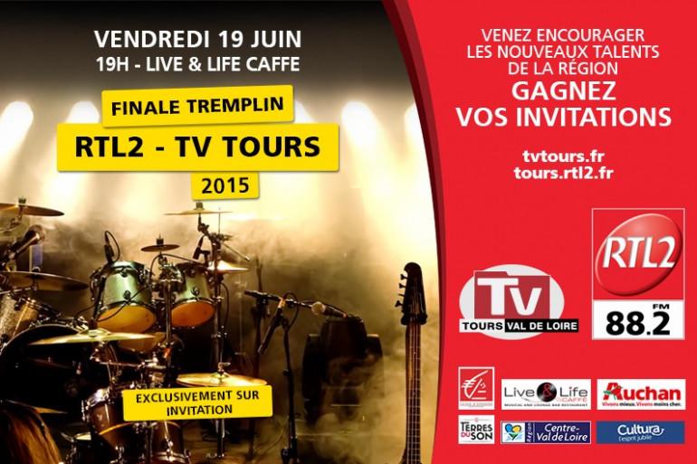 Finale du Tremplin RTL2 / TV Tours