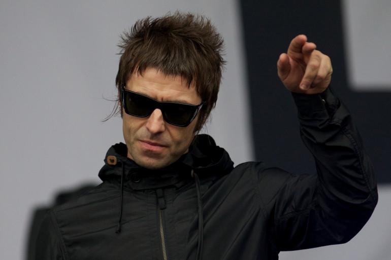 Liam Gallagher chantait de Beady Eye, composé d'anciens d'Oasis, mais le groupe s'est séparé en 2014