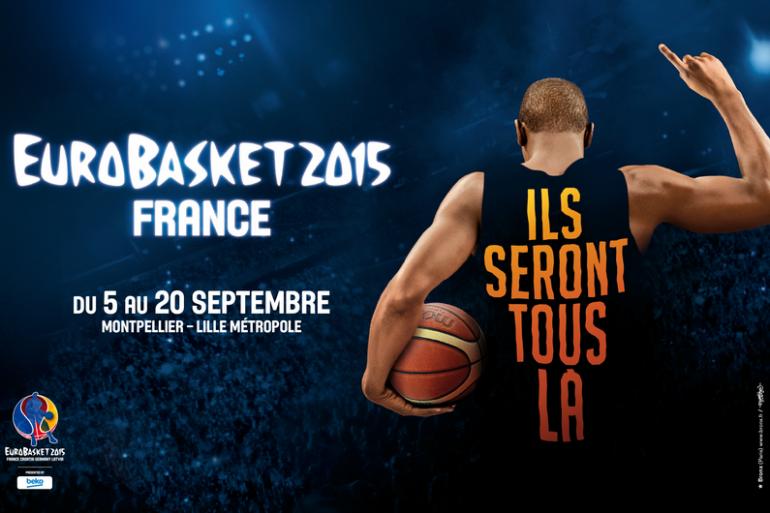 EuroBasket 2015 à Lille