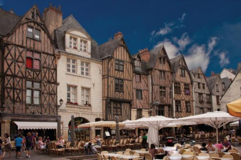 Place Plumerau à Tours