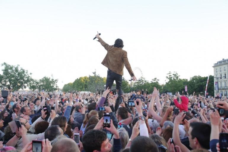Cali en concert au Pop Rock Live à Bordeaux