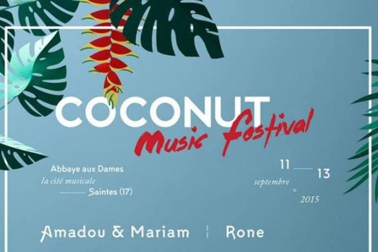 Le coconut music festival débarque à Saintes