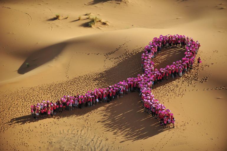 Trophée Roses des Sables - Le cancer du sein, parlons-en !