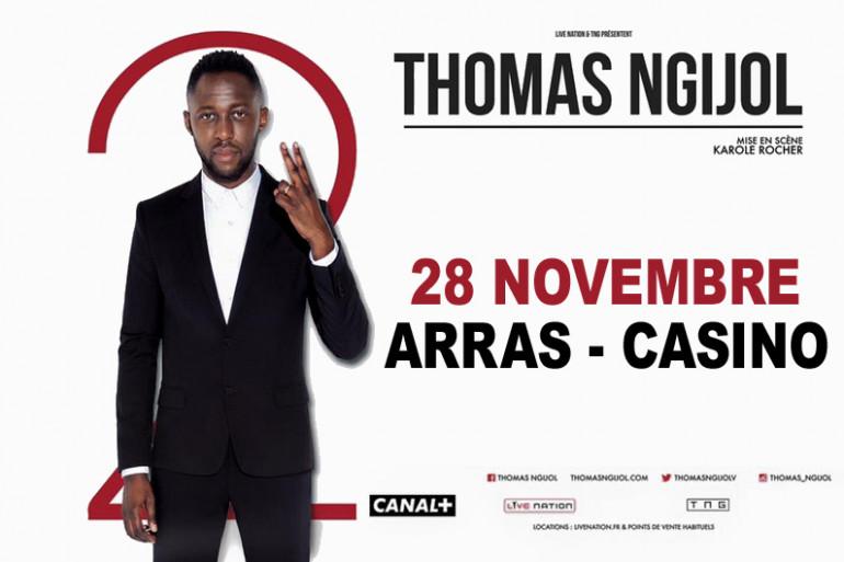 Gagnez vos invitations pour le spectacle de Thomas Ngijol au Casino d'Arras