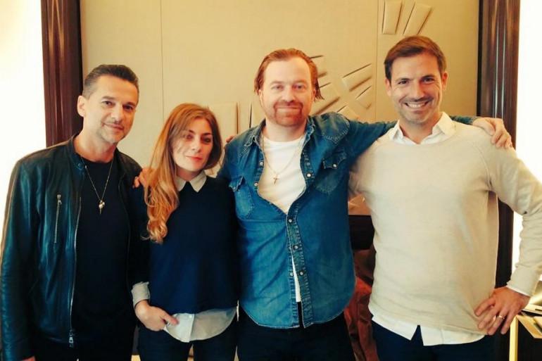 Dave Gahan & Soulsavers avec Mathilde Courjeau et Grégory Ascher du Drive RTL2