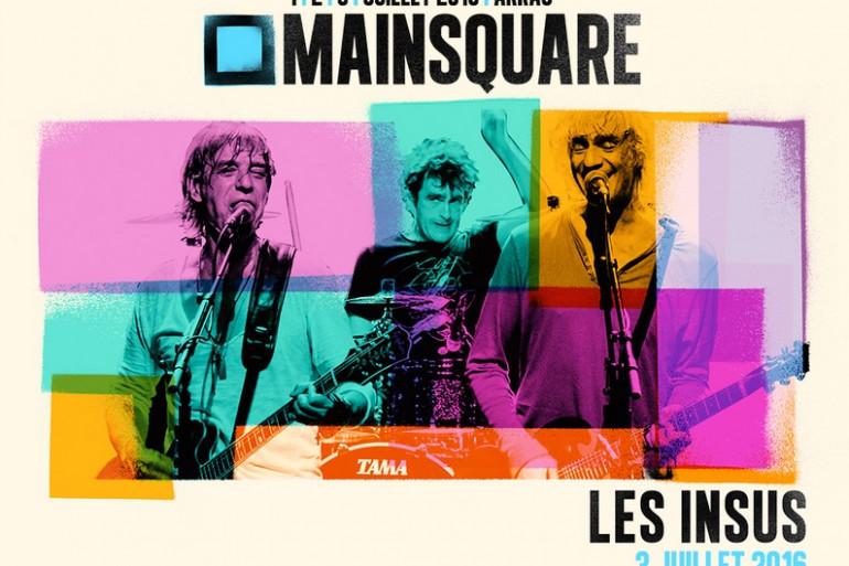 Les Insus, première tête d'affiche du Main Square 2016 !