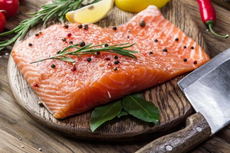 un des poissons préféré des français : le saumon