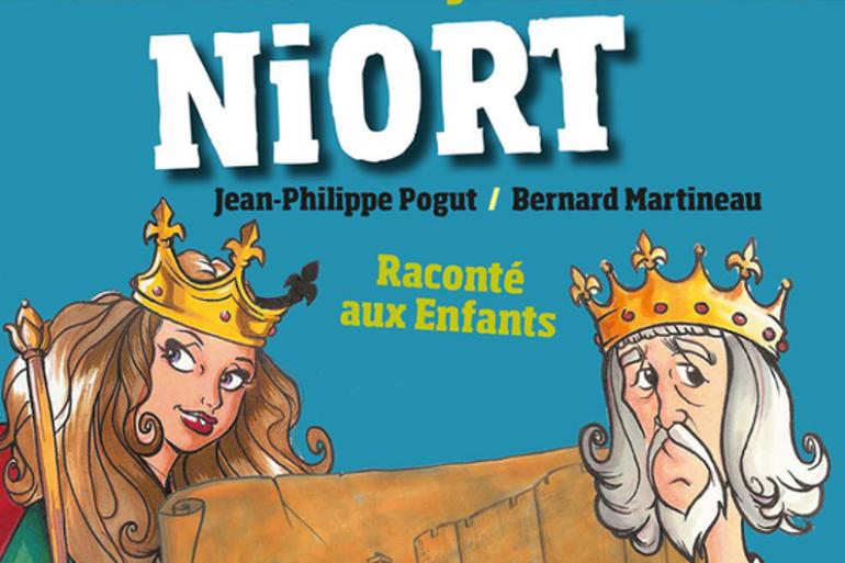 """""""Je découvre Niort raconté aux enfants"""" est sorti aux éditions Geste"""