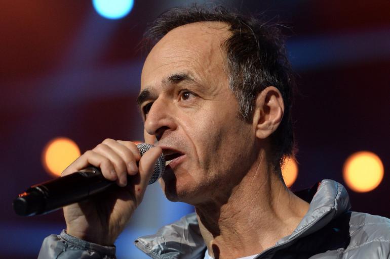 """Jean-Jacques Goldman lors d'un concert des """"Enfoire´s"""" a` Strasbourg le 15 janvier 2014 (illustration)"""