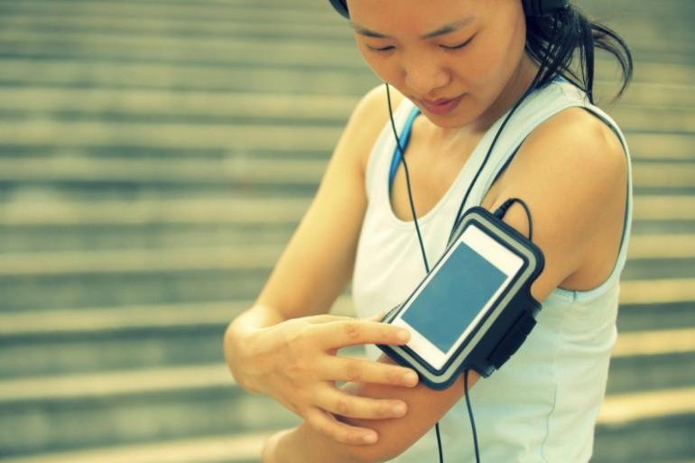 Faire du sport avec un smartphone