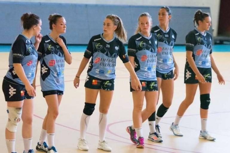 Les joueuses du Chambray Touraine Handball, club de D2F