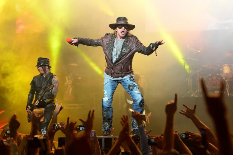 Axl Rose, le leader du groupe, est le seul membre à ne jamais avoir quitté les Guns N'Roses