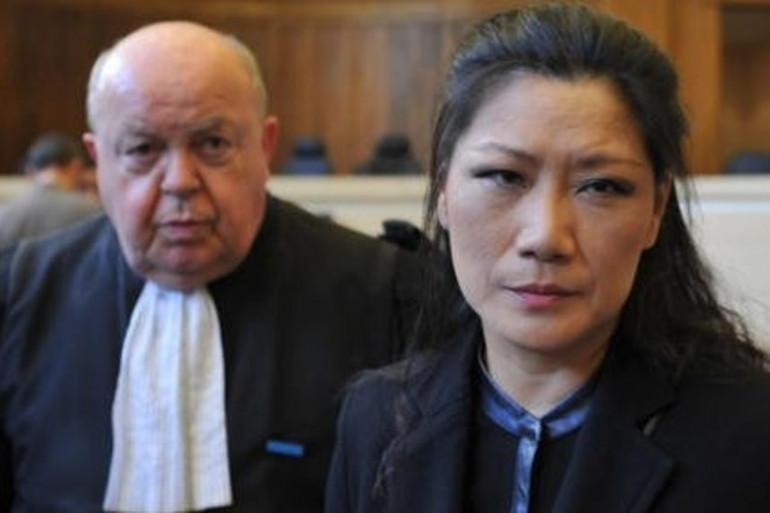 Affaire des mariages chinois : Lise Han et son avocat Me Gérard Chautemps (Photo cor. NR, Guillaume Souvant)