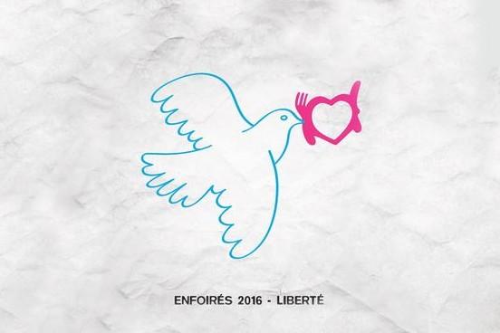 """""""Liberté"""", l'hymne des Enfoirés pour 2016"""