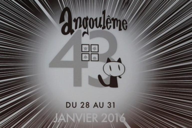 Du 28 au 31 janvier, rendez-vous au 43ème festival international de BD d'Angoulême