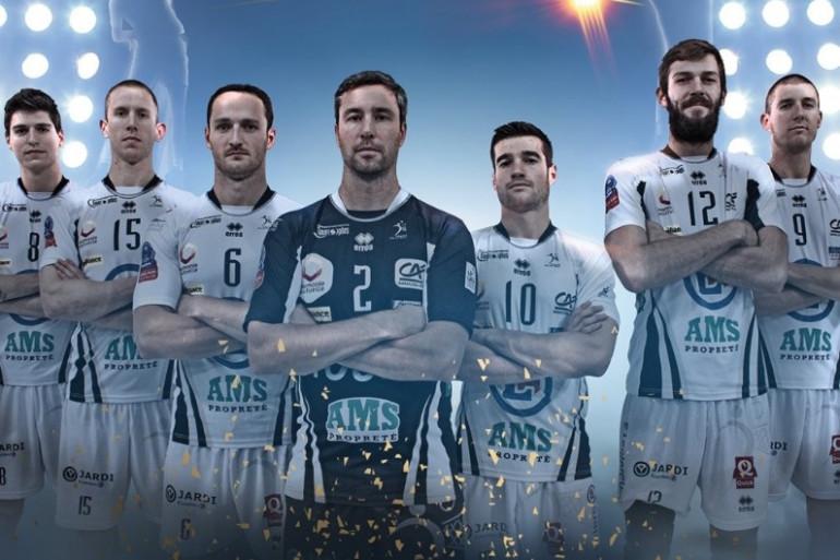 L'équipe du Tours Volley-Ball
