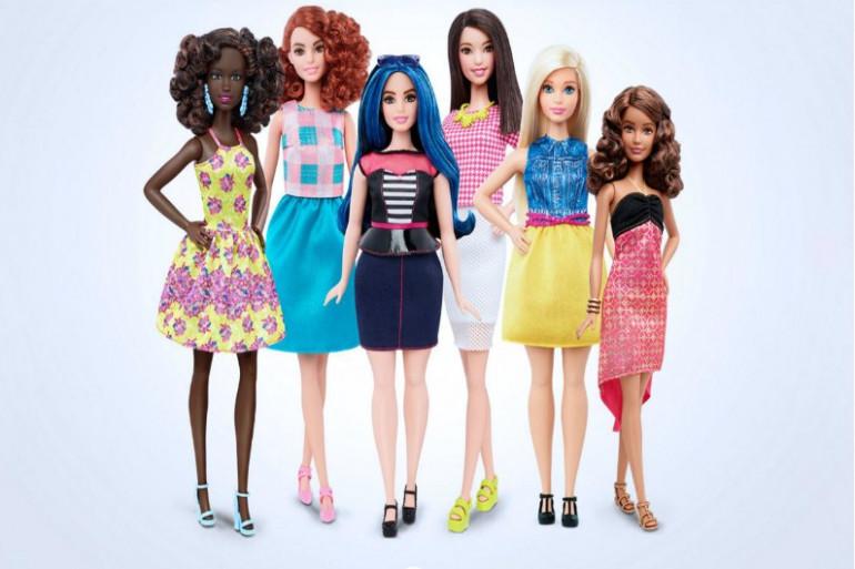 Les nouvelles Barbies sont rondes, grandes ou petites