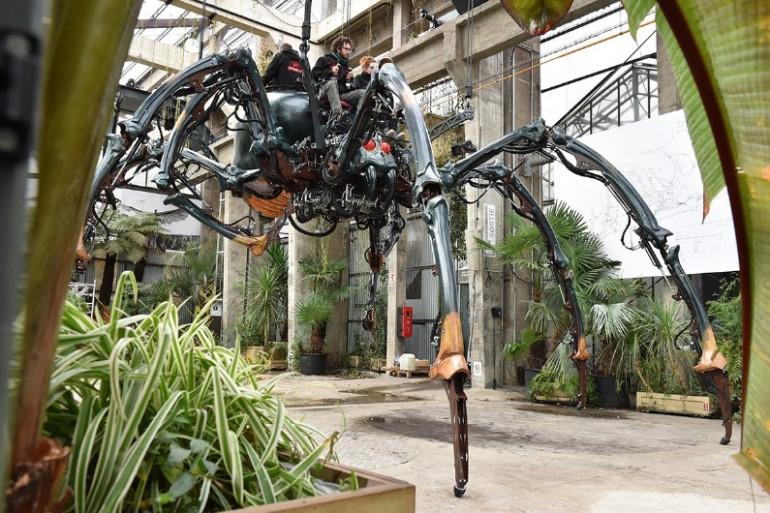 l'araignée géante de Nantes