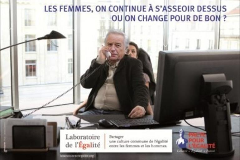 Campagne pour l'égalité femmes-hommes au travail