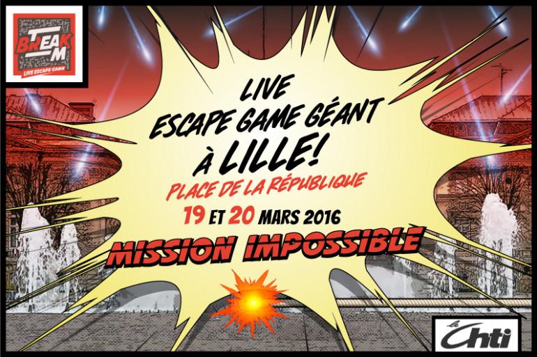 Live Escape Game Géant à Lille !