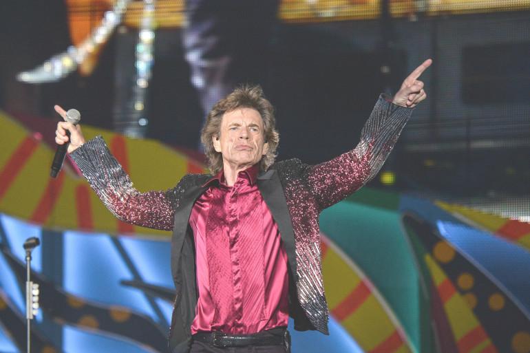 Mick Jagger lors du concert des Rolling Stones à la Havane le 25 mars