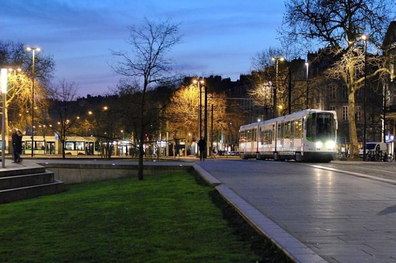 La tramway Nantais