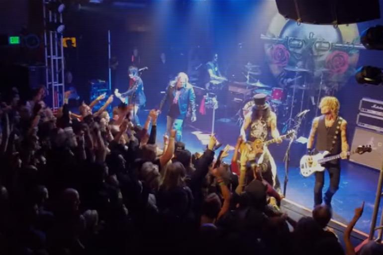 Guns N' Roses sont remontés sur scène à Los Angeles le 1er avril