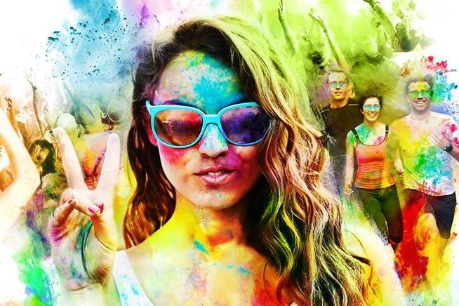 1ère Happy Color Tours le dimanche 5 juin