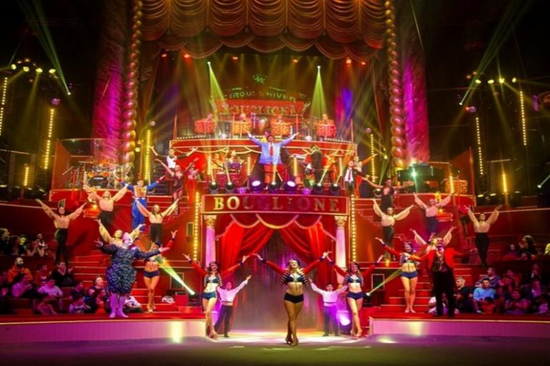 Le cirque Bouglione à Nantes