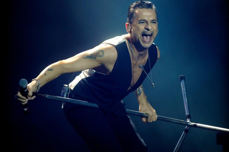 Dave Gahan, le leader de Depeche Mode