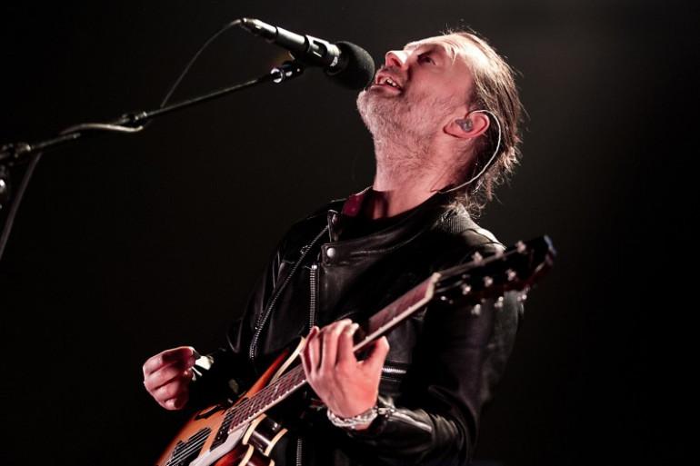 Thom Yorke, le leader du groupe anglais Radiohead, était passé à Paris fin 2015 à l'occasion de la COP21