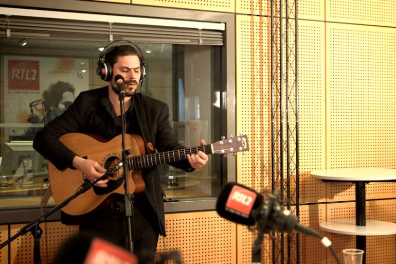 Luke Elliot en Session Très Très Privée RTL2