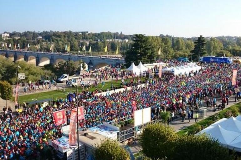 10 & 20 km de Tours et Marathon Touraine Loire Valley 2015 (photo NR - Chantal Pétillat))
