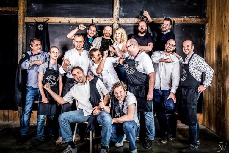 """Créé il y a 3 ans, le collectif """"Mange, Lille !"""" compte désormais 20 chefs et pâtissiers."""