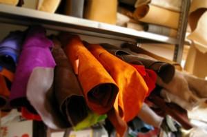 Atelier de création de maroquinerie à Thilouze