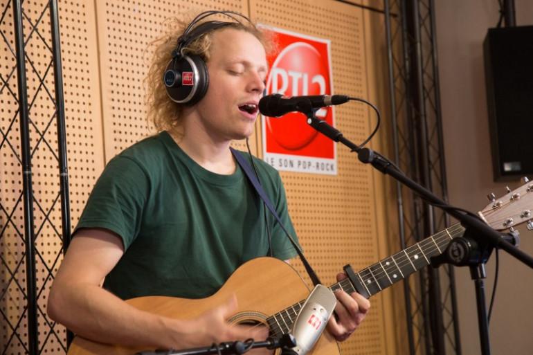 Moddi dans les studios de RTL2