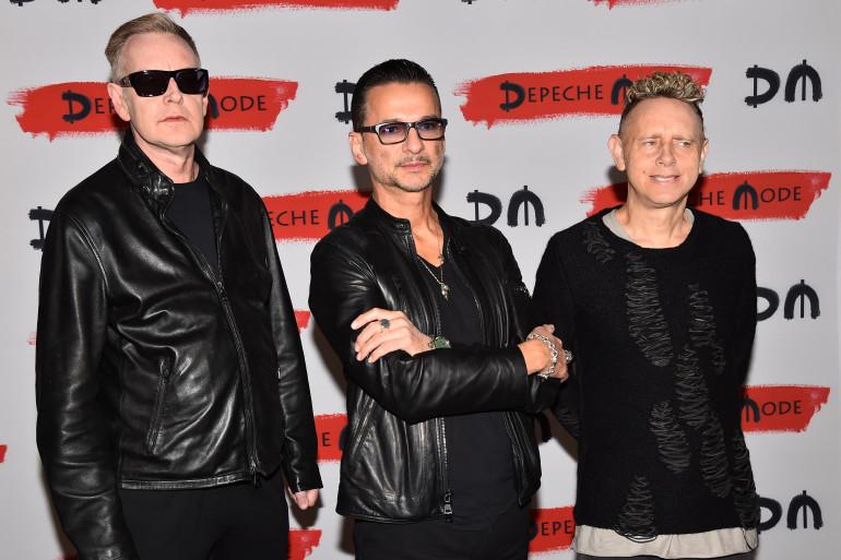 Depeche Mode à Milan pour annoncer son nouvel album et le Global Tour