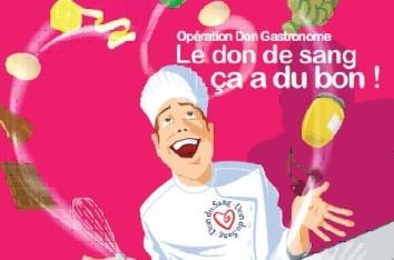 """Opération """"Don du sang gastronome"""" ce vendredi 4 novembre à Tours"""