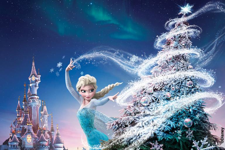 C'est enfin déjà Noël à Disneyland® Paris