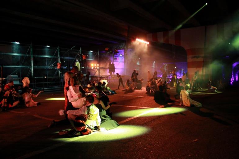 """""""Wild Side Story"""", le nouveau spectacle de la Compagnie OFF (photo Mathieu Giua pour 37°)"""
