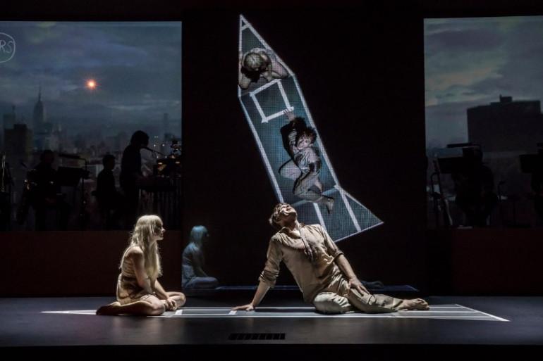 LAZARUS - Michael C Hall (Newton), Sophia Anne Caruso (Girl) Credit Johan Persson 07949(1)