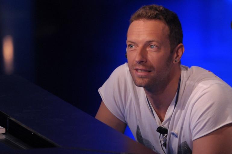 Le chanteur de Coldplay Chris Martin en novembre 2016
