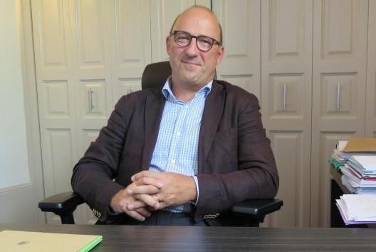 Le maire de Loches, Marc Angenault, bien décidé à devenir député (photo NR)