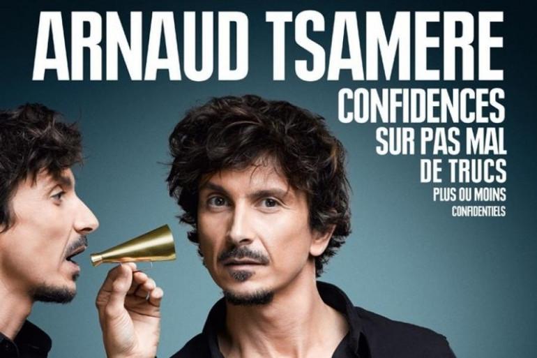 Arnaud Tsamère et son spectacle